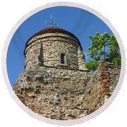 Colchester Castle Round Beach Towel