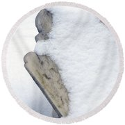 Cold Dead Round Beach Towel