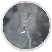 Cold Finger Round Beach Towel