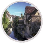 Colmar Cannel  Round Beach Towel