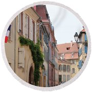 Colmar Small Street Round Beach Towel