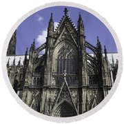 Cologne Cathedral 02 Round Beach Towel