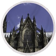 Cologne Cathedral 03 Round Beach Towel