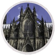 Cologne Cathedral 04 Round Beach Towel