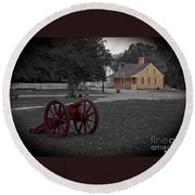 Colonial Days Round Beach Towel