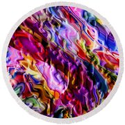 Color Evolution Round Beach Towel