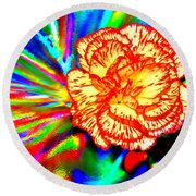 Color Extreme Round Beach Towel