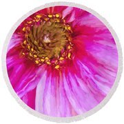 Color Wow Round Beach Towel