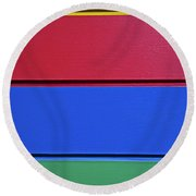 Color Your World... Round Beach Towel