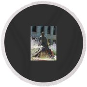 Colorado Ioi Round Beach Towel