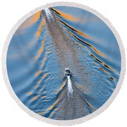 Colorado River Arizona Round Beach Towel