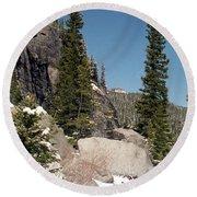 Colorado - Rocky Mountain National Park 01 Round Beach Towel