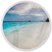 Colorful Paradise Round Beach Towel