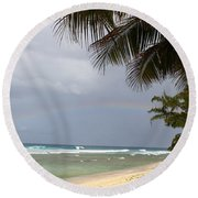 Colors After The Rain Round Beach Towel
