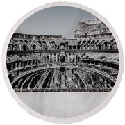 Colosseum Round Beach Towel