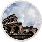 Colosseum  Rome, Italy Round Beach Towel