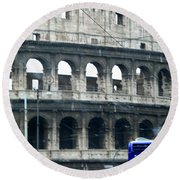 Colosseum Two Round Beach Towel