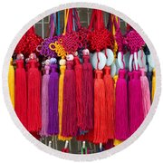Colourful Souvenirs In China Round Beach Towel