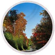 Colours Of Caledon Round Beach Towel