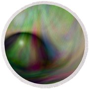Colours Of Creation 5 Round Beach Towel