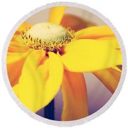 Comfort In Me Round Beach Towel
