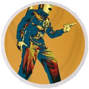 Commando Cody 1 Round Beach Towel
