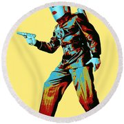 Commando Cody 3 Round Beach Towel