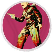 Commando Cody 4 Round Beach Towel