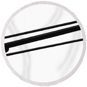 Company Above Round Beach Towel
