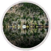 Complete Reflection Round Beach Towel