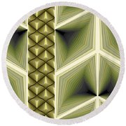 Composition 231 Round Beach Towel
