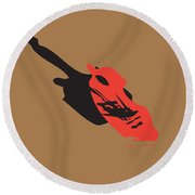 Compositions-8 Round Beach Towel