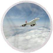 Concorde Legend Round Beach Towel by J Biggadike