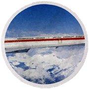 Concorde Round Beach Towel