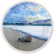 Cone Foam Round Beach Towel