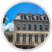 Charleston Confederate Home Round Beach Towel