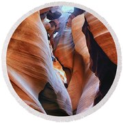 Confined Spaces Round Beach Towel