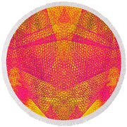 Confounded Fish Round Beach Towel
