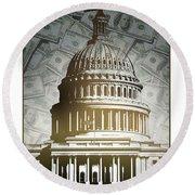 Congress-2 Round Beach Towel