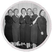 Congresswomen, 1938 Round Beach Towel