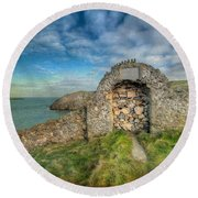 Consecrated 1535 Round Beach Towel by Adrian Evans