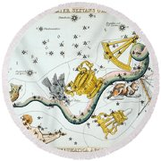 Constellation: Hydra Round Beach Towel