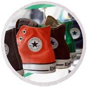 Converse Star Sneakers Round Beach Towel