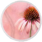 Cool And Pink Round Beach Towel