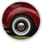 Cool Chevy Pickup  Round Beach Towel