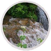 Cool Clear Water Round Beach Towel