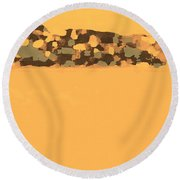Coorong Mirage Round Beach Towel