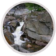 Coos Canyon 1558 Round Beach Towel