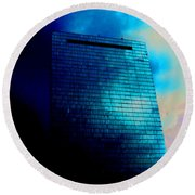 Copley Square Round Beach Towel