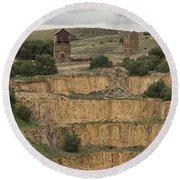 Copper Mine Round Beach Towel